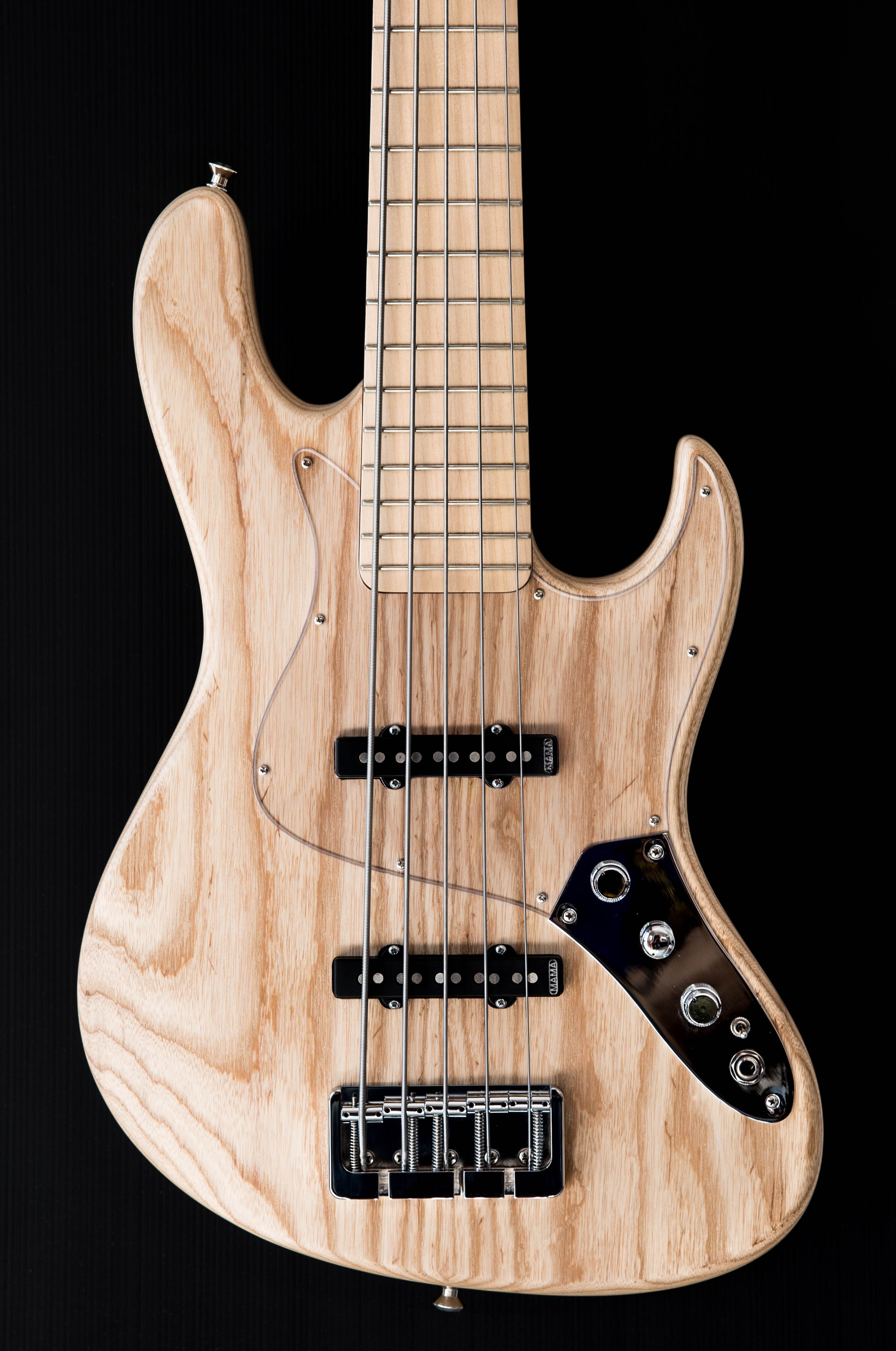 Vinta 5 strings swamp ash body