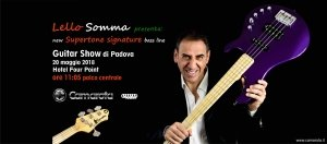 "(Italiano) new Supertone ""Lello Somma signature"" bass series"